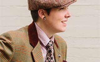 Мужская кепка. Выкройка и описание