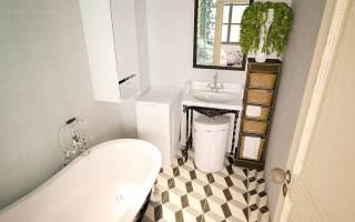 Как самостоятельно сделать косметический ремонт ванной?