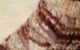 Вязание для собак спицами. Свитер. Схема и описание