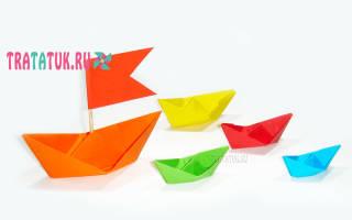 Кораблик. Оригами.