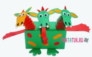 Детские поделки из пластилина. Дракон «Горыныч». Мастер класс с пошаговым фото