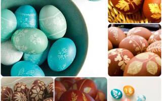 Пасхальное декоративное яйцо.