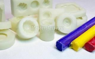 Силиконовые формы для работы с полимерной глиной. Тонкости, особенности, секреты лепки из пластики