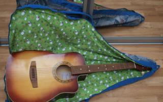 Чехол для гитары из старых джинсов своими руками. Мастер класс