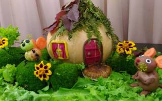 Поделки на тему овощи. Лучшие идеи и фото