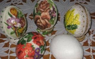 Пасхальные сувениры. Основа для пасхального яйца. Мастер-класс