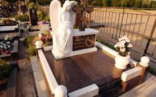 Разновидности памятников на кладбище: материалы и формы