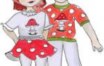 Шапочка для новогоднего костюма «Мухомор». Мастер-класс