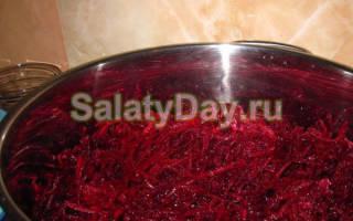 Салат из свеклы на зиму. Готовим быстро и просто! Лучшие рецепты с фото