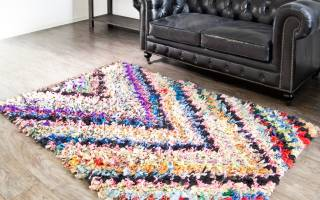 Красивые коврики своими руками: оригинальные идеи