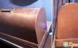 Декупаж органайзера для ниток в форме швейной машинки. Мастер класс