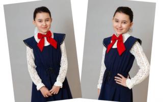 Летняя блузка для девочки 5 лет. Мастер класс
