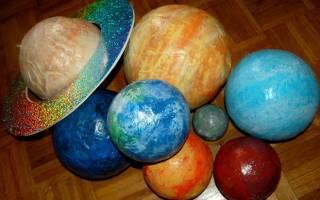 Поделка из воздушного шарика. Планета Земля.