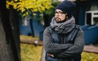 Мужской вязаный шарф спицами. Описание