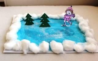 Зимние поделки. Дед Мороз из перчаток. Мастер класс с пошаговым фото