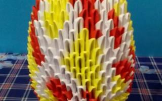 Модульное оригами. Яйцо. Мастер-класс