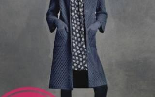 Вязание спицами. Женское демисезонное пальто. Мастер-класс