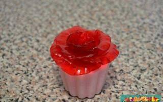 Мыло – сахарный скраб. Клубничная роза. МК с пошаговыми фото