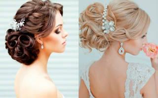 Украшение для волос невесты. Мастер класс