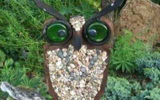Поделки для сада своими руками из подручных материалов: 100 идей и фото