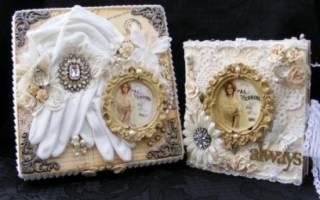 Свадебный скрапбукинг: пошаговые мастер-классы с фото