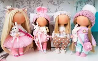 Куклы своими руками. Мастер класс