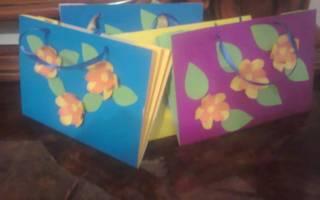 Поделки из бумаги. Цветы для мамы на 8 Марта.