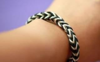 Самый простой браслет из резинок: инструкция на пальцах