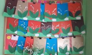 Конспект занятия по изобразительному искусству. Летние цветы