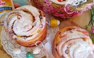 Пасхальный кулич с сухофруктами и мармеладом. Рецепт с пошаговыми фото