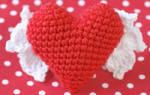 Вязание крючком сердца ко дню Святого Валентина. Мастер класс с пошаговым фото