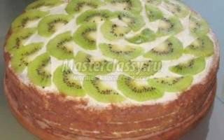 Бисквитный торт: рецепты для начинающих кулинаров