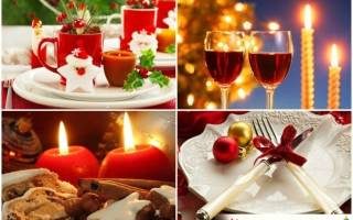 Новогодний стол 2016. Какие продукты готовить на Новый Год 2016 Обезьяны