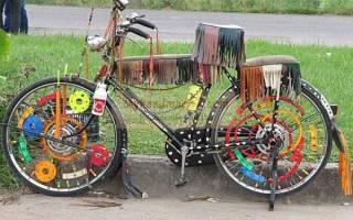 Как украсить велосипед? Самые интересные идеи