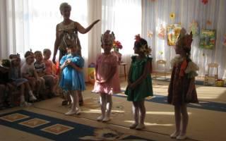 Авторская подвижная игра для детей старшего, подготовительного дошкольного возраста «Времена года»