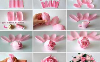 Цветы Дюшес своими руками. Мастер — класс с пошаговыми фото