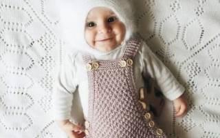 Вязание детской шапочки Hello Kitty.