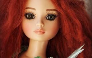 Из чего сделать волосы кукле?