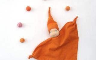 Вальдорфская кукла своими руками.