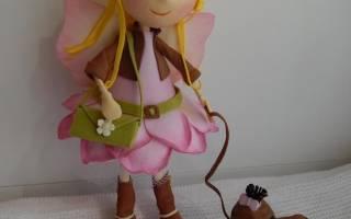 Кукла из пористой резины. Мастер-класс