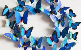 Бабочка из бумаги своими руками: лучшие идеи с фото