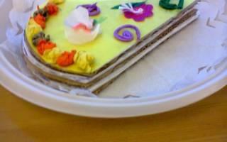 Сладкое угощение для мамочки из цветной бумаги. Тортик.