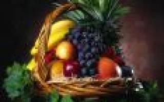 Тонкости оформления фруктовой корзины своими руками