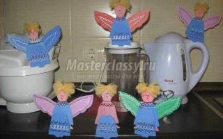 Ангелочки из фанеры своими руками.