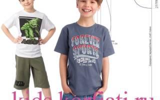 Как сшить футболку своими руками для мальчика?