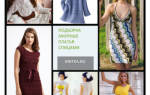 Ажурное платье спицами. Схема и описание