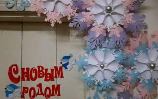 Зимние поделки из бумаги. Объемная снежинка. Мастер класс с пошаговым фото