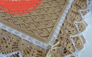 Вязание детских одеял. Схемы