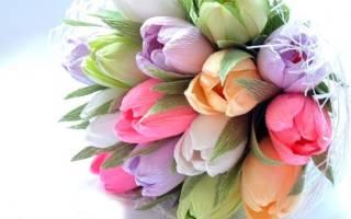 Браслет «Букет тюльпанов» из резинок. Пошаговый мастер-класс