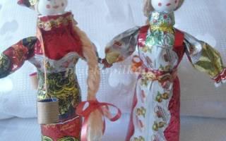 Кукла из бросового материала. Весёлый Капитошка.